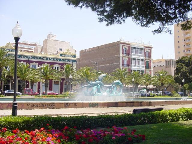 Parque de Nicolás Salmerón Almería