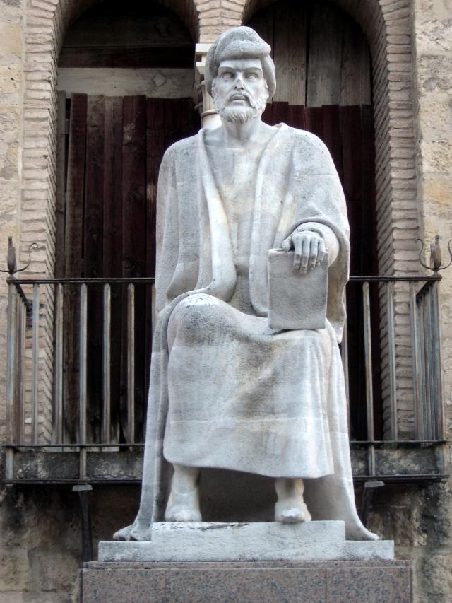 Córdoba - statue of Abu al Walid