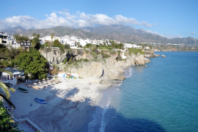 Nerja - view from Balcón de Europa