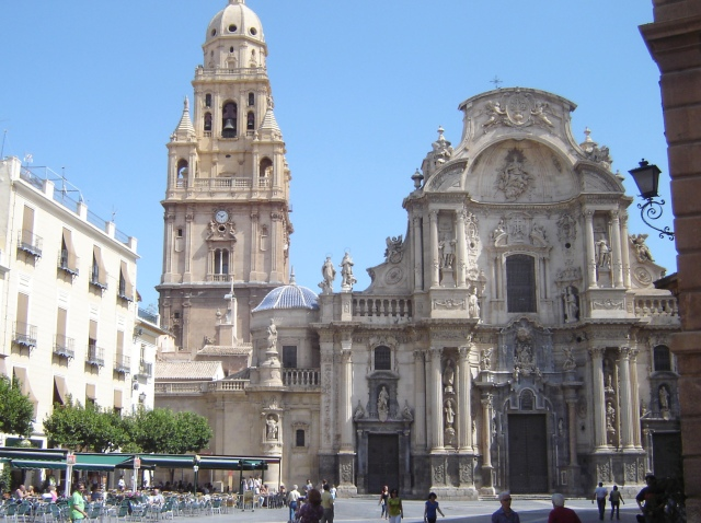 Murcia Cathedral by Robert Bovington