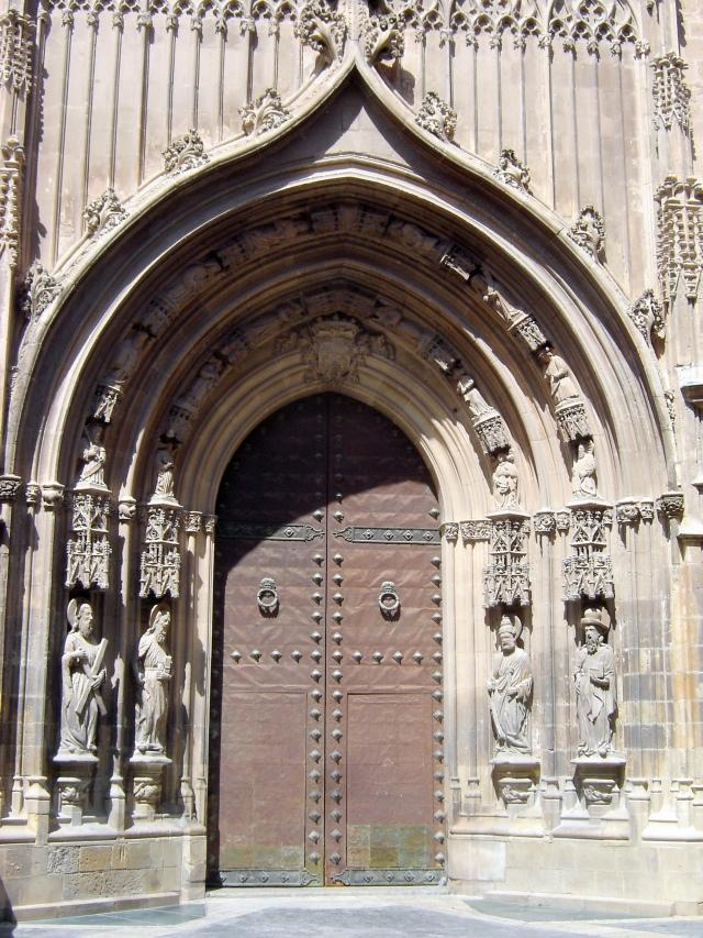 Murcia Cathedral Portico de los Apostoles  © Robert Bovington