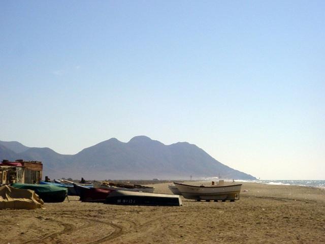 El Cabo de Gata pueblo © Robert Bovington